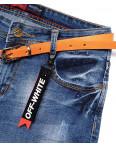 A 0618-15 Relucky шорты джинсовые женские с царапками стрейчевые (25-30, 6 ед.): артикул 1092992