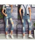 0136 Lolo Blues комбинезон джинсовый женский с рванкой весенний котоновый (25-30, 6 ед.): артикул 1093275