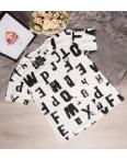 7708-2 CQF футболка женская с принтом летняя стрейчевая (размер универсал, от 1 ед.): артикул 1093387