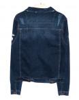 0084 Orjean куртка джинсовая мужская c  вышитым декором осенняя котоновая  (S-XL, 4 ед.): артикул 1094167