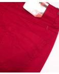 9926 красные Sunbird бриджи женские батальные стретчевые (36-42, 6 ед.): артикул 1094337