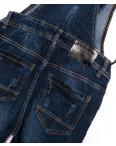 A 0302-16 Relucky комбинезон джинсовый женский с царапками осенний стрейчевый (25-30, 6 ед.) : артикул 1095621