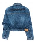 2100 Relucky куртка джинсовая женская короткая осенняя котоновая (S-L, 6 ед.): артикул 1095653