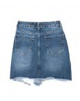 1905 XRAY юбка джинсовая с рванкой осенняя котоновая (34-40, евро, 6 ед.): артикул 1096471