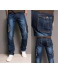 5003 Attrend джинсы мужские с накладными карманами весенние котоновые (29-34, 6 ед.): артикул 1090066