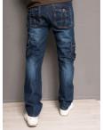 5001 Attrend джинсы мужские молодежные с накладными карманами весенние котоновые (28-36, 8 ед.): артикул 1090065