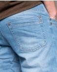 0499 L.V.D. джинсы мужские голубые весенние котоновые (30-36, 6 ед.): артикул 1097068