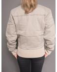 0102 серая Prodigy куртка женская осенняя (S-XL, 4 ед.): артикул 1097474