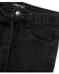 1397 Lady N юбка джинсовая черная осенняя котоновая (25-30, 6 ед.): артикул 1097532
