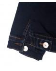 0008-H Deli куртка джинсовая мужская синяя осенняя стрейчевые (S-2XL,5 ед.): артикул 1097564