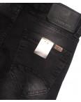 5057 Denim джинсы мужские с царапками на резинке темно-серые осенние стрейчевые (29-36, 8 ед.): артикул 1097552