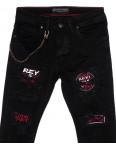 5456 Redman джинсы мужские модные черные осенние стрейчевые (29-36, 8 ед.): артикул 1098699