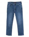 0001-А New Design джинсы мужские полубатальные синие осенние стрейчевые (32-42, 8 ед.): артикул 1099120