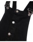 0024 XRAY сарафан джинсовый на кнопках черный осенний котоновый (34-40, евро, 6 ед.): артикул 1099287