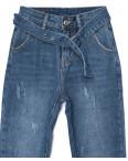 3381 New jeans мом с царапками синий осенний котоновый (25-30, 6 ед.): артикул 1099305