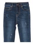 3467 New jeans американка с царапками синяя осенняя стрейчевая (25-30, 6 ед.): артикул 1099329