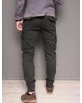 1868-grey Forex брюки мужские молодежные карго на флисе зимние стрейч-котон (28-40, 10 ед.): артикул 1099441