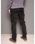 1863-black Forex брюки мужские карго на флисе зимние стрейч-котон (30-40, 10 ед.): артикул 1099436
