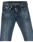 0015-21-007 Antony Morato джинсы мужские полубатальные с царапками осенние стрейчевые (32-38, 7 ед.): артикул 1099609