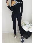 1230 Lady N американка черная на флисе зимняя стрейчевая (25-30, 6 ед.): артикул 1102311