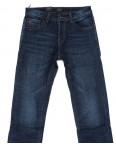 8222 FHOUS джинсы мужские полубатальные синие на флисе зимние стрейчевые (32-40, 8 ед.) : артикул 1101622