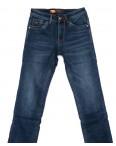 18239 U&P джинсы мужские синие на флисе зимние стрейчевые (29-38, 8 ед.) : артикул 1101623