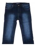 0180 Bagrbo джинсы мужские полубатальные синие на флисе зимние стрейчевые (32-38, 8 ед.): артикул 1102285