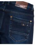 3721 Bigboss джинсы мужские полубатальные синие на флисе зимние стрейчевые (32-38, 8 ед.): артикул 1102293