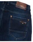 3717 Bigboss джинсы мужские полубатальные синие на флисе зимние стрейчевые (32-38, 8 ед.): артикул 1102296
