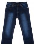 0182 Bagrbo джинсы мужские полубатальные синие на флисе зимние стрейчевые (32-42, 8 ед.): артикул 1102297