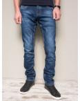 8381-8 Vingvgs джинсы мужские молодежные синие с царапками осенние стрейчевые (27-34, 8 ед.): артикул 1101721