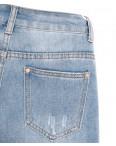 3649 New jeans мом синий весенний коттоновый (25-30, 6 ед.): артикул 1103389