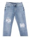 3634 New jeans мом стильный синий весенний коттоновый (25-30, 6 ед.): артикул 1103399