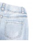 3628 New jeans мом с царапками голубой весенний коттоновый (25-30, 6 ед.): артикул 1103402