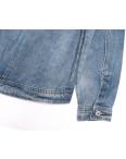 0807 New jeans куртка джинсовая женская синяя весенняя коттоновая (ХS-XXL, 6 ед.): артикул 1103735