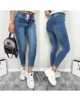 3663 New jeans джинсы женские с царапками синие весенние стрейчевые (25,26,30, 3 ед.): артикул 11033881