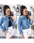 0803 New jeans куртка джинсовая женская синяя весенняя коттоновая (XS-XXL, 6 ед.): артикул 110341311