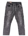 19303-50 Viman джинсы мужские на резинке серые весенние стрейчевые (30-38, 5 ед.): артикул 1104794