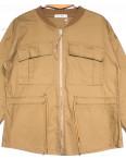 19199 Saint Wish куртка джинсовая женская коричневая весенняя коттоновая (S-2XL, 5 ед.): артикул 1104855