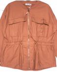 19199 Saint Wish куртка джинсовая женская коралловая весенняя коттоновая (S-2XL, 5 ед.): артикул 1104859