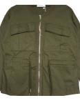 19199 Saint Wish куртка джинсовая женская хаки весенняя коттоновая (S-2XL, 5 ед.): артикул 1104857