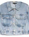 9012 Saint Wish куртка джинсовая женская синяя весенняя коттоновая (ХS-XL, 5 ед.): артикул 1104864