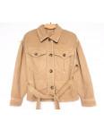 9067-7 Saint Wish куртка джинсовая женская коричневая весенняя коттоновая (ХS-XL, 5 ед.): артикул 1104873