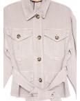 9067-8 Saint Wish куртка джинсовая женская серая весенняя коттоновая (ХS-XL, 5 ед.): артикул 1104875