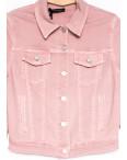 9035-3 Saint Wish куртка джинсовая женская розовая весенняя стрейчевая (ХS-XL, 5 ед.): артикул 1104881