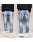 9901-3 R Relucky джинсы мужские с рванкой синие весенние стрейчевые (29-38, 8 ед.): артикул 1104336