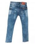 4389 Redcode джинсы мужские с рванкой синие весенние стрейчевые (29-36, 8 ед.): артикул 1105003