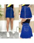 0590 Arox юбка джинсовая на пуговицах синяя весенняя стрейчевая (34-40, евро, 4 ед.): артикул 1105543