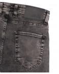 6718 Blue Nil джинсы мужские полубатальные серые весенние стрейчевые (32-40, 8 ед.): артикул 1105534