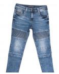 8335 Fangsida джинсы мужские молодежные синие весенние стрейчевые (28-36, 8 ед.): артикул 1105591